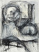 Trace, mixed media drawing, 30x22 inches, 2012 thumbnail