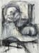 Trace, mixed media drawing, 30x22 inches, 2012 thumbnail