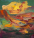 Amidst, oil on canvas, 60x54 inches, 2014 thumbnail